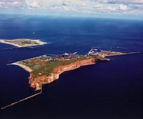 Helgolang - a beautiful Danish Island on the North Sea